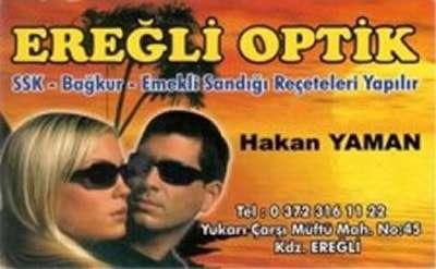 Ereğli Optik Hakan Yaman