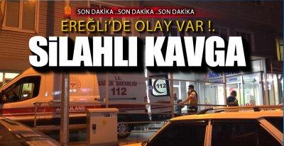 1 KİŞİ AYAĞINDAN VURULDU !.