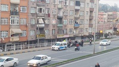 POLİS DURDURUNCA KAÇTILAR !.