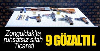 9 ŞÜPHELİ GÖZALTINDA !.