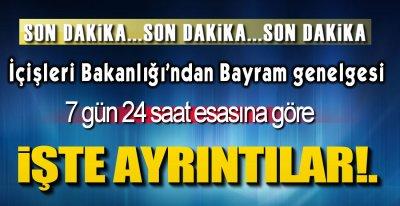 SON DAKİKA GENELGESİ !.