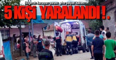 """BİR """"PATPAT"""" DA 5 KİŞİ !."""