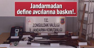 DEFİNE AVCILARINA BASKIN!.