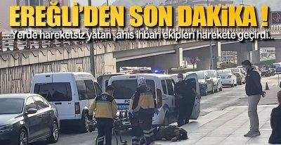 EKİPLER OLAY YERİNDE !.