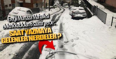 TELLER YERLERDE GEZİYOR !.