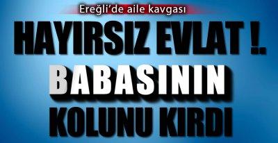 EREĞLİ'DE AİLE KAVGASI !.