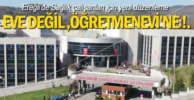 EREĞLİ'DE HAZIRLIKLAR TAMAMLANDI