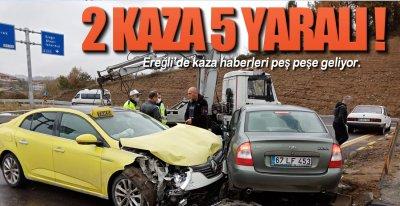 KAZA HABERLERİ PEŞ PEŞE !.
