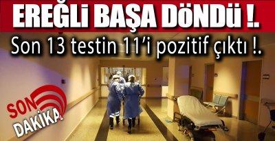 EREĞLİ'DE SON DURUM BU !: