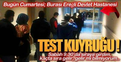 TEST KUYRUĞU !.