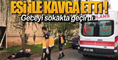 GECEYİ SOKAKTA GEÇİRDİ!.