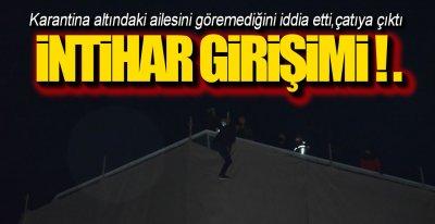 İNTİHAR GİRİŞİMİ!.