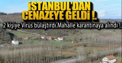 İSTANBUL'DAN GELDİ, OLANLAR OLDU !.