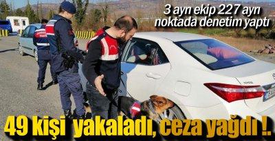 JANDARMA  DENETİME ÇIKTI !.
