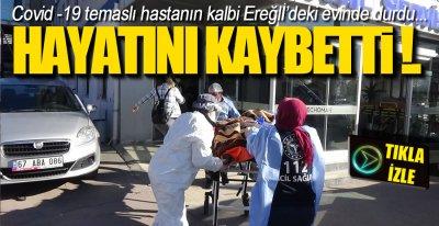 KALBİ DURDU, HAYATINI KAYBETTİ !.