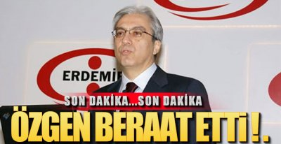 KARAR AZ ÖNCE ÇIKTI !.