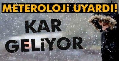 KIŞ GERİ DÖNÜYOR !.