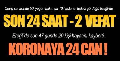 KORONA CAN ALMAYA DEVAM EDİYOR !.