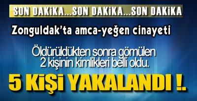 ÖLDÜRÜP ORMANA GÖMMÜŞLER !.