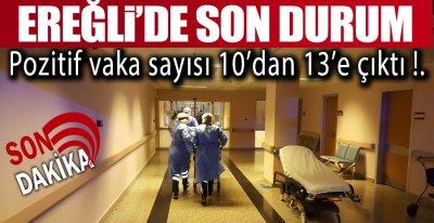POZİTİF VAKA SAYISI ARTIYOR !: