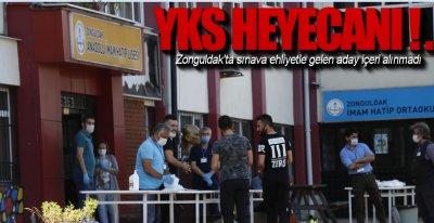 SINAVDA EHLİYET KRİZİ !.