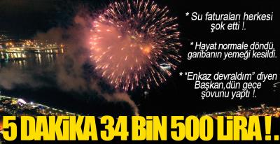 SU BAHANE HAVAİ FİŞEK ŞAHANE !.