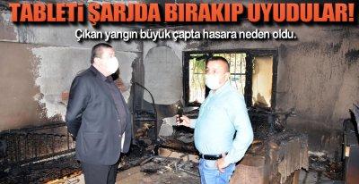 TABLET EVİ EVİ KÜL ETTİ !.