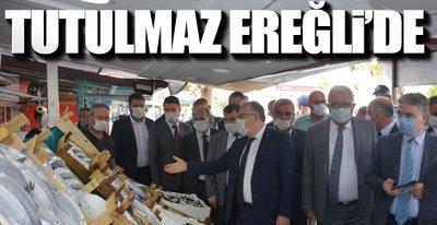 VALİ EREĞLİ'DE !.