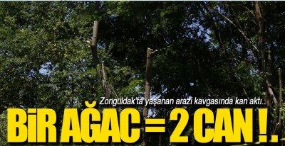 ZONGULDAK'TA ARAZİ KAVGASI !.