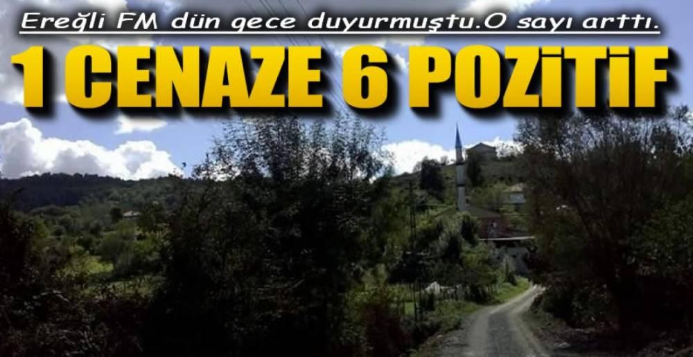 1 CENAZE 6 POZİTİF !.