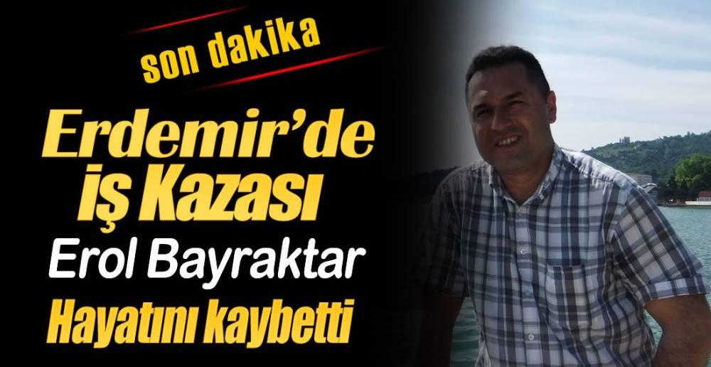 1 İŞÇİ  HAYATINI KAYBETTİ !.