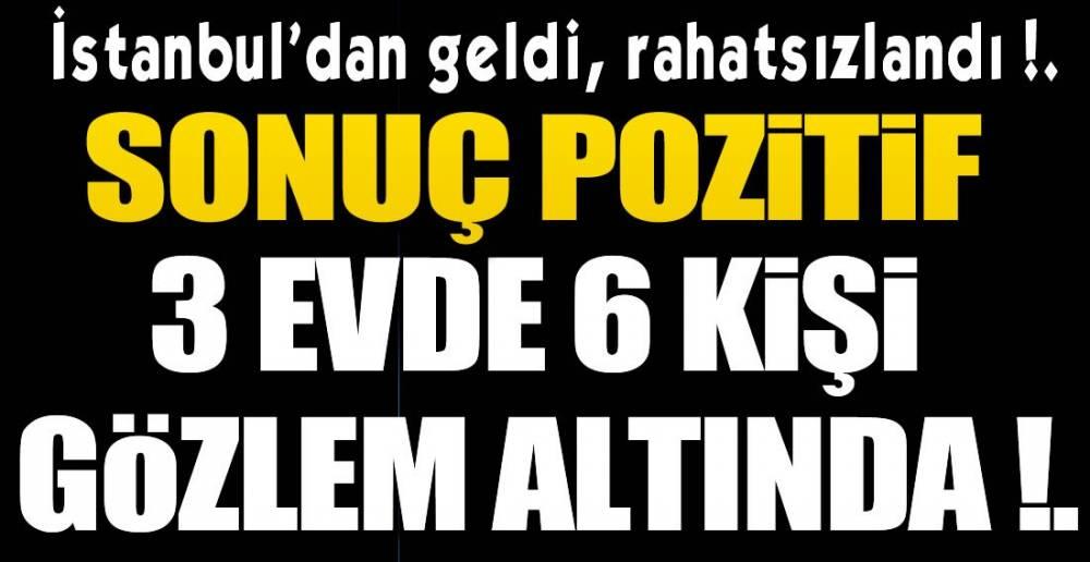 1 POZİTİF VAKA DAHA !.