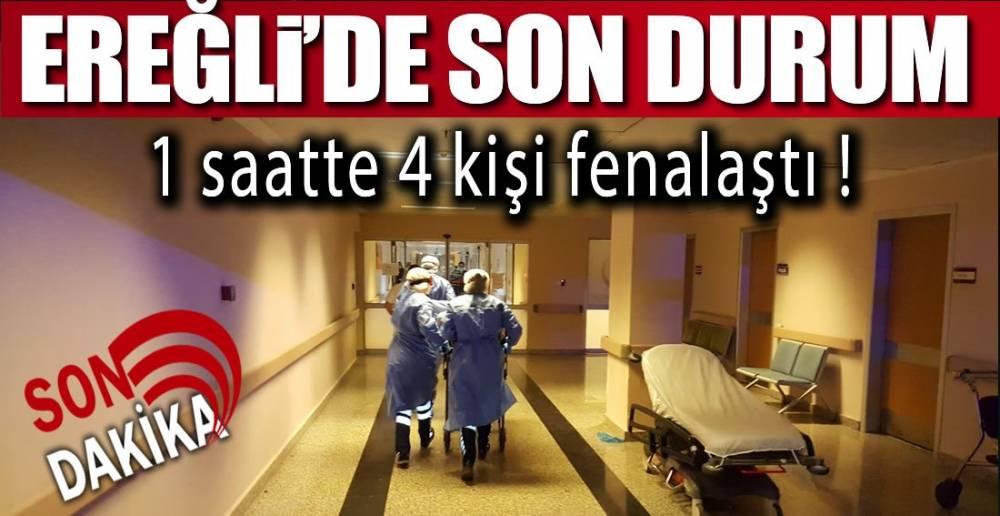 1 SAATTE 4 KİŞİ !.