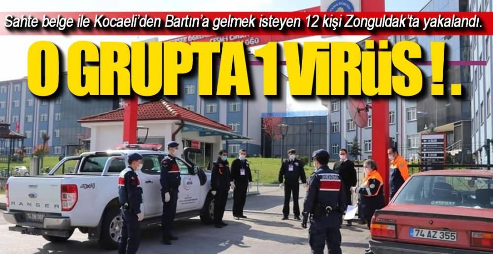 12 KİŞİYE ZORUNLU KARANTİNA !.