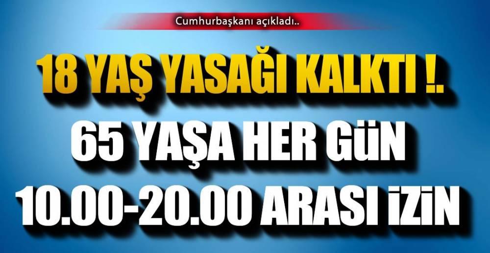 18 VE 65 YAŞA MÜJDE !.