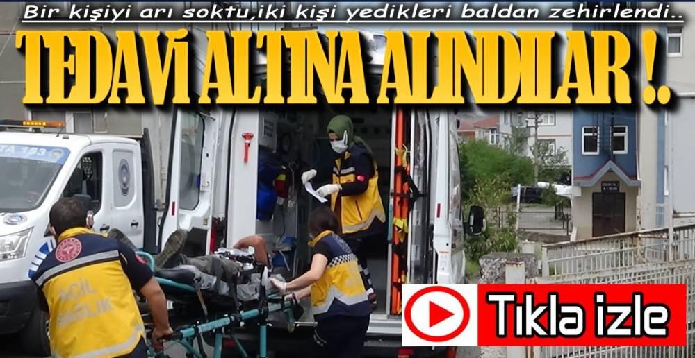 3 KİŞİ TEDAVİ ALTINDA !.