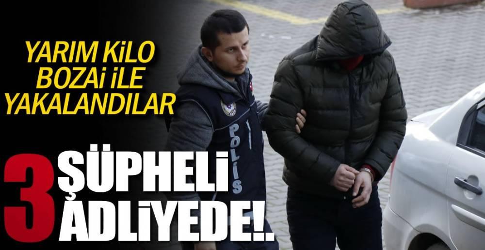 3 ŞÜPHELİ SORGULANIYOR !.