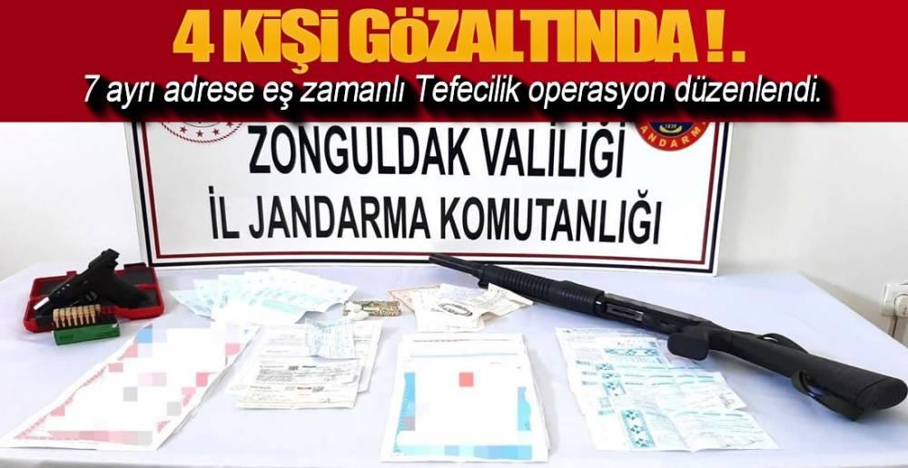 4 KİŞİ GÖZALTINA ALINDI !.