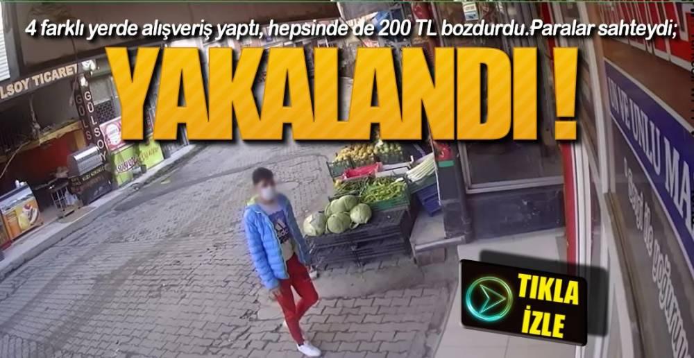 4 YERDEN ALIŞVERİŞ YAPMIŞ !.