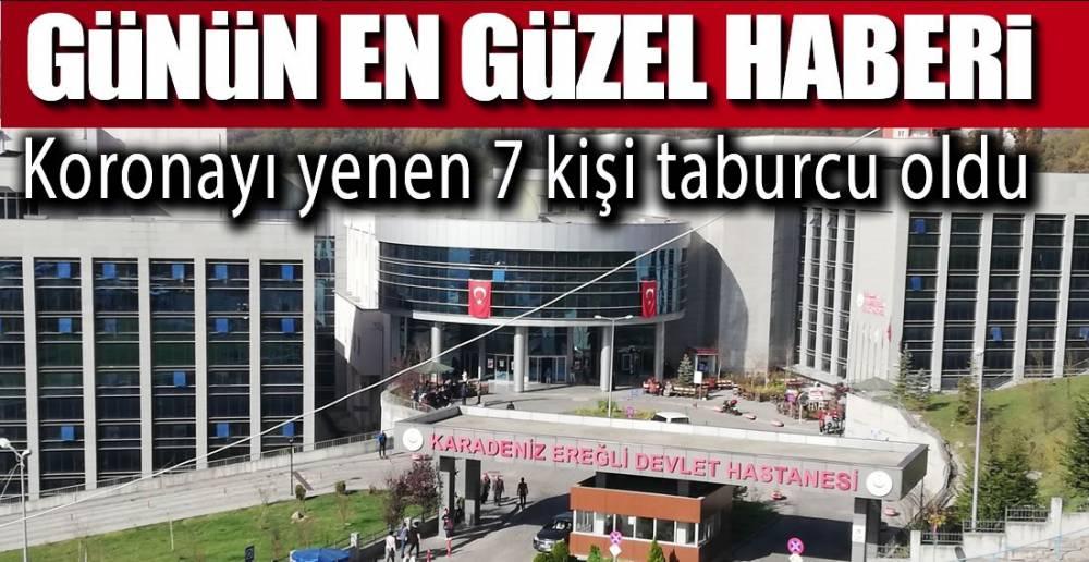 7 KİŞİ DAHA ŞİFA BULDU !.