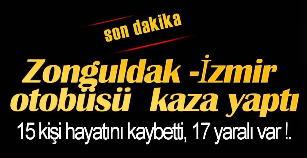OTOBÜS DEVRİLDİ !.