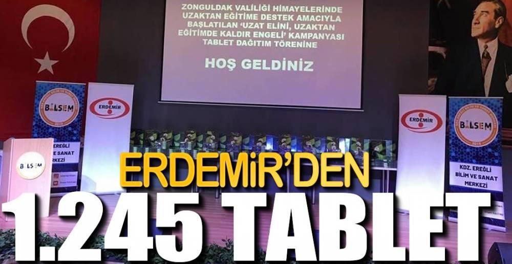 ALKIŞLAR ERDEMİR'E....