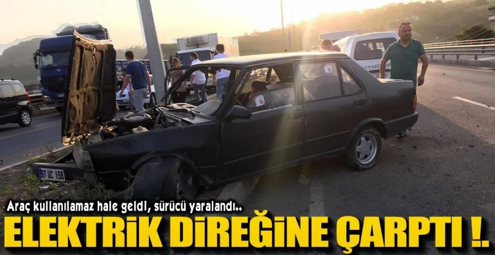 ARAÇ HURDAYA ÇIKTI !.