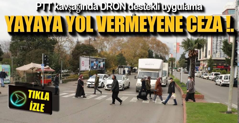 ARAÇ KULLANANLAR DİKKAT !.