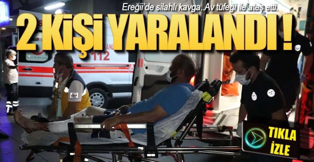 AV TÜFEĞİ İLE ATEŞ ETTİ !.