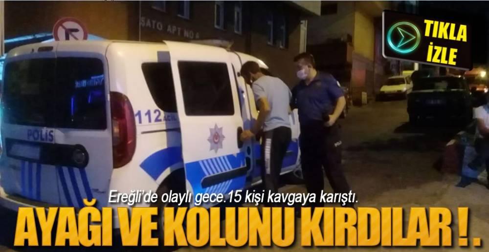 AYAĞI VE KOLUNU KIRDILAR !.