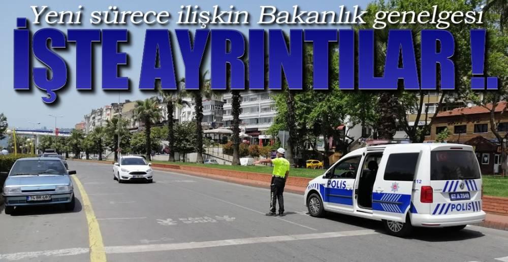 BAKANLIK GENELGESİ !.