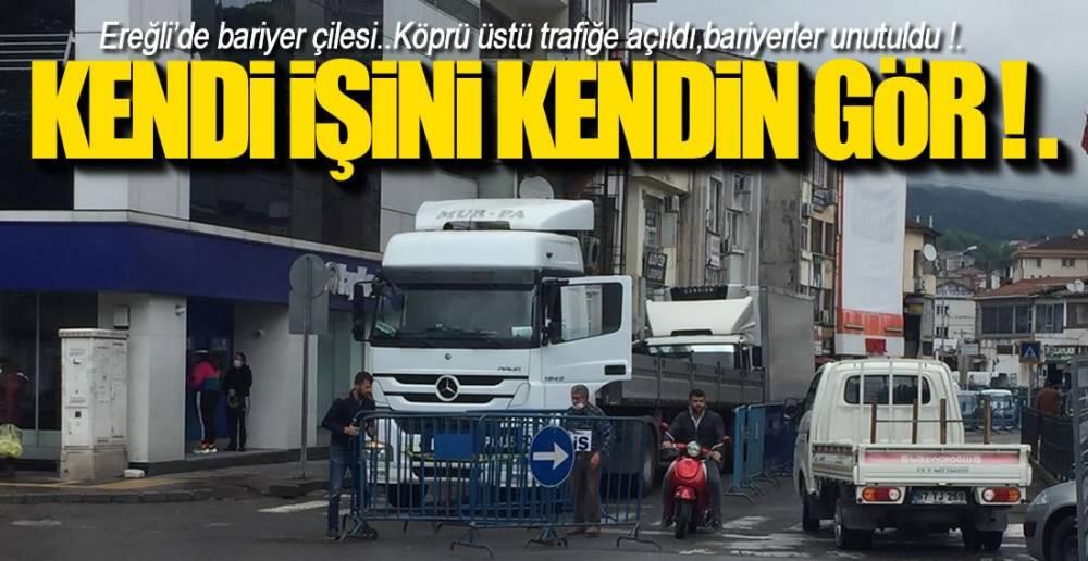 BARİYERLİ VİRÜS MÜCADELESİ !.