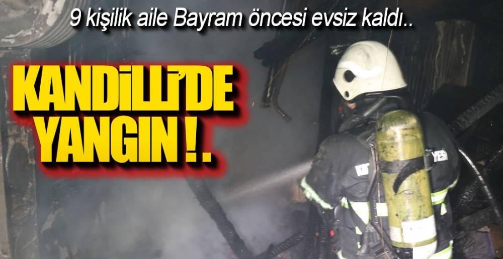 BAYRAM ÖNCESİ EVSİZ KALDILAR !.