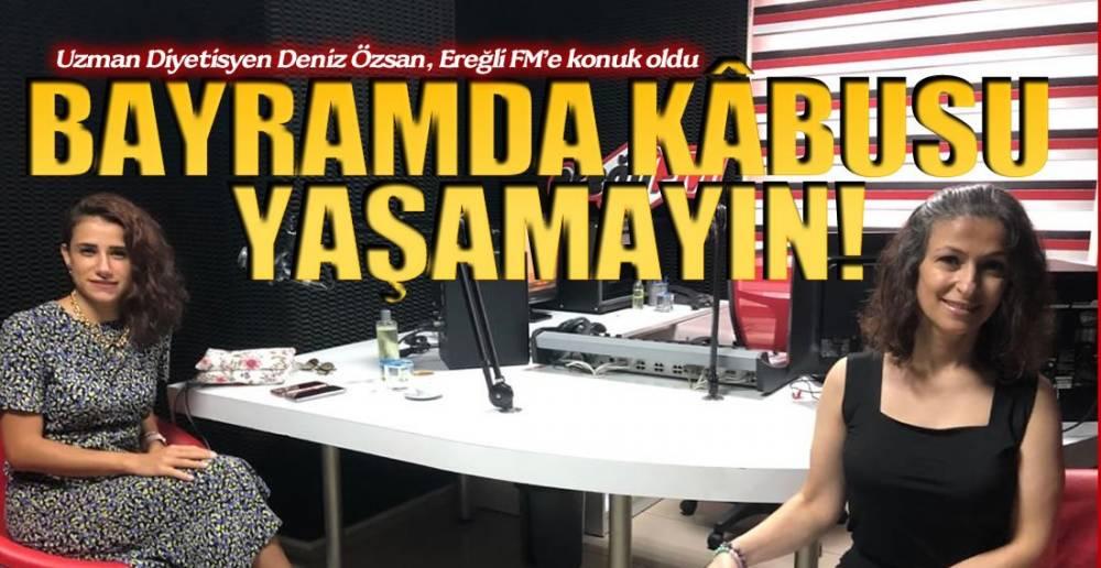 BAYRAMDA SAĞLIKLI BESLENME !.